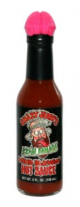 Crazy Jerrys Brain Damage Hot Sauce